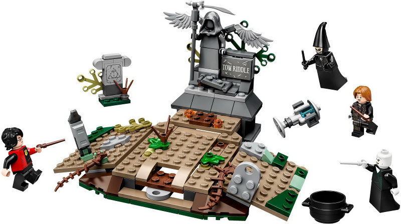 Bricklink Set 75965 1 Lego The Rise Of Voldemort Harry Potter Goblet Of Fire Bricklink Reference Catalog