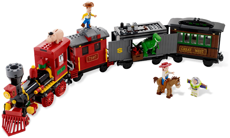 Bricklink Set 7597 1 Lego Western Train Chase Toy Story
