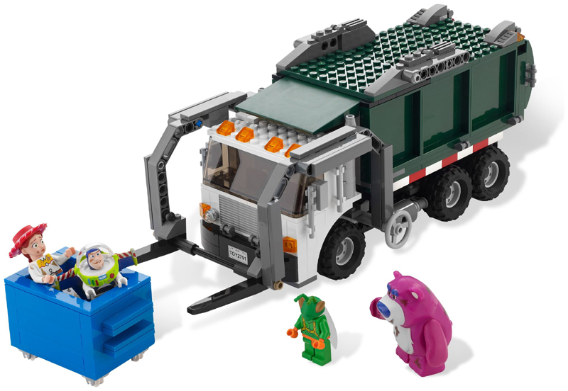 Bricklink Set 7599 1 Lego Garbage Truck Getaway Toy Story