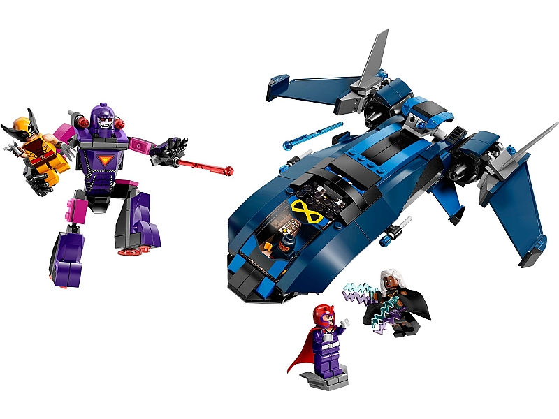 Bricklink Set 76022 1 Lego X Men Vs The Sentinel Super Heroes