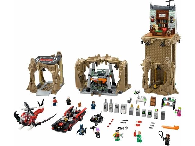 Bricklink Set 76052 1 Lego Batman Classic Tv Series Batcave