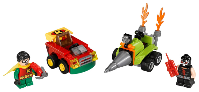 BrickLink - Set 76062-1 : Lego Mighty Micros: Robin vs. Bane [Super  Heroes:Mighty Micros:Batman II] - BrickLink Reference Catalog