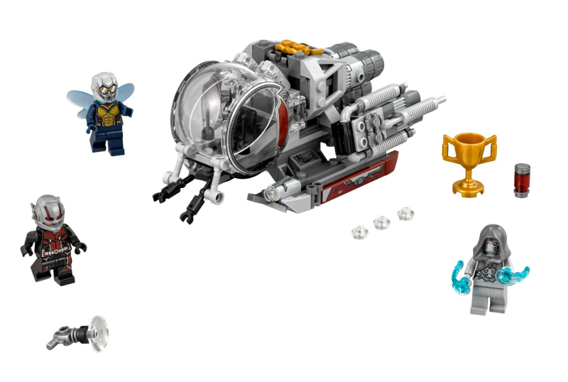 Bricklink Set 76109 1 Lego Quantum Realm Explorers Super Heroes Ant Man And The Wasp Bricklink Reference Catalog