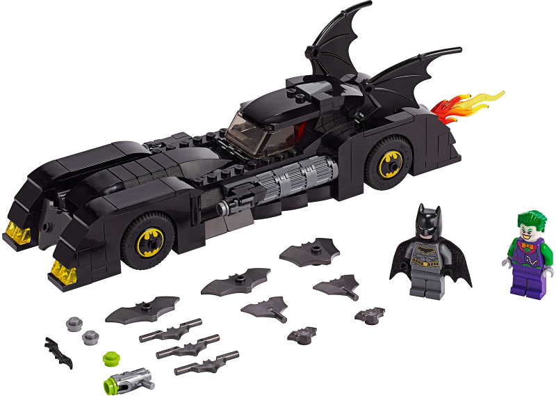 Bricklink Set 76119 1 Lego Batmobile Pursuit Of The Joker Super Heroes Batman Ii Bricklink Reference Catalog