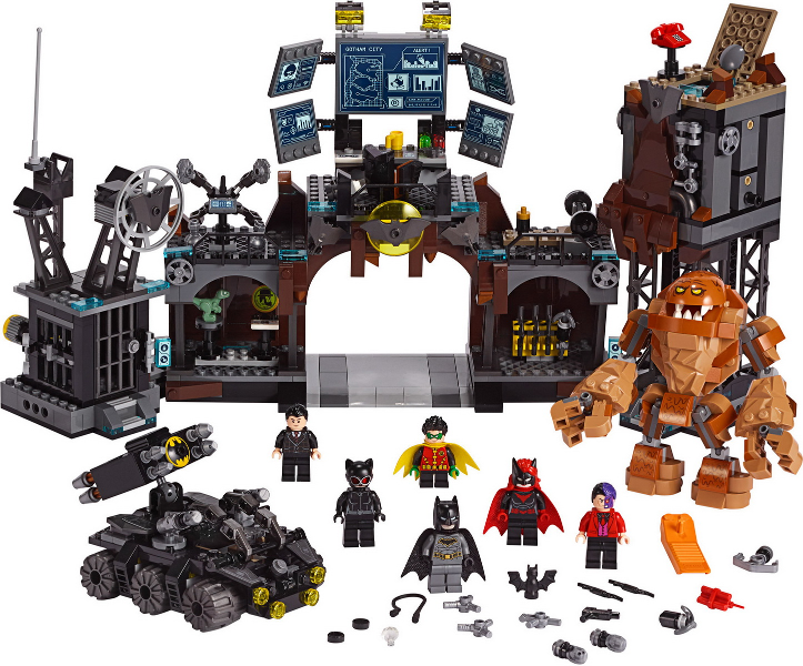 Bricklink Set 76122 1 Lego Batcave Clayface Invasion Super Heroes Batman Ii Bricklink Reference Catalog