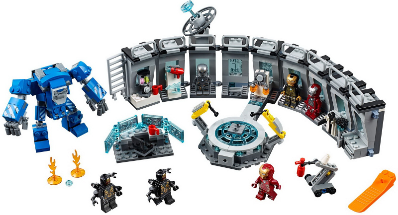 Bricklink Set 76125 1 Lego Iron Man Hall Of Armor Super Heroes Avengers Endgame Bricklink Reference Catalog
