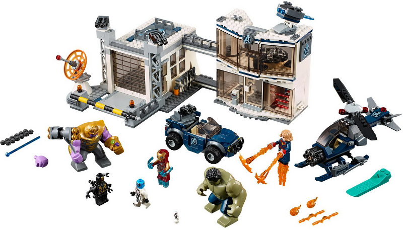 Bricklink Set 76131 1 Lego Avengers Compound Battle Super Heroes Avengers Endgame Bricklink Reference Catalog