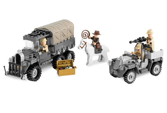 LEGO Instruction Manual Only Indiana Jones 7622 Race for the Stolen Treasure