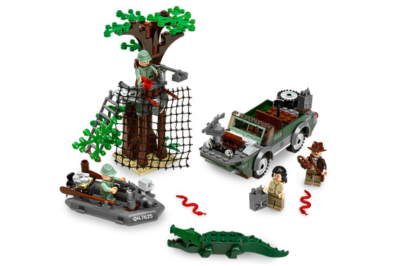 Bricklink Set 7625 1 Lego River Chase Indiana Jones Kingdom Of The Crystal Skull Bricklink Reference Catalog