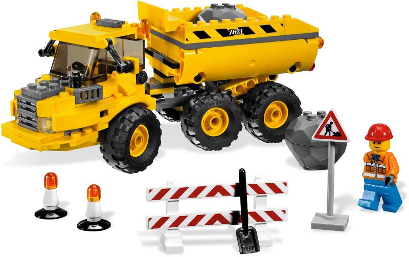 Bricklink Set 7631 1 Lego Dump Truck Towncityconstruction