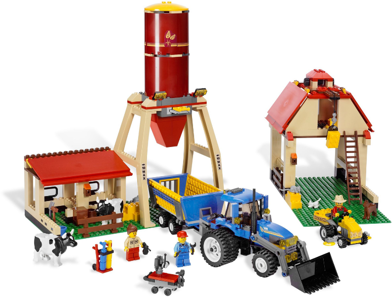 Bricklink Set 7637 1 Lego Farm Town City Farm Bricklink Reference Catalog