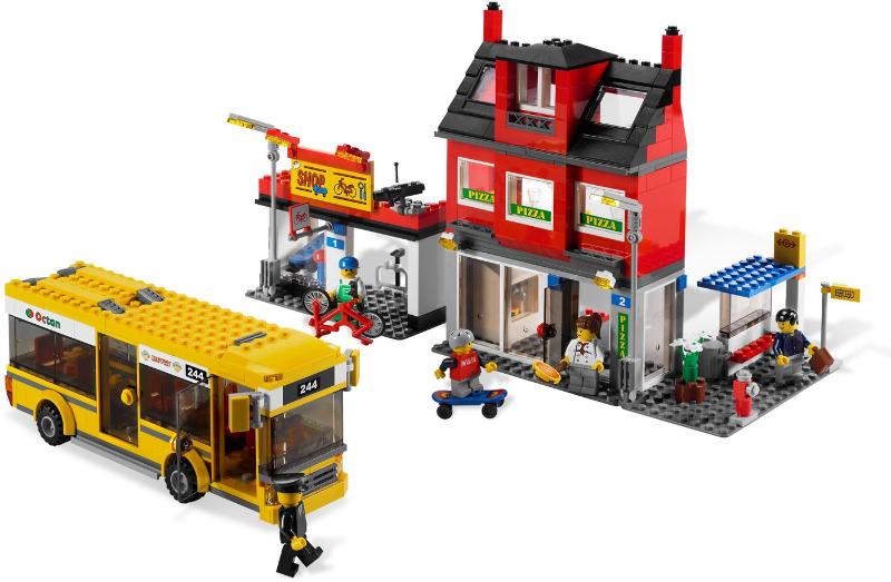 Bricklink Set 7641 1 Lego City Corner Towncitytraffic