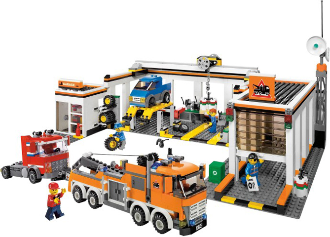 Bricklink Set 7642 1 Lego Garage Towncitytraffic Bricklink