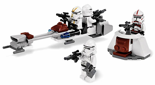 Bricklink Set 7655 1 Lego Clone Troopers Battle Pack Star Wars