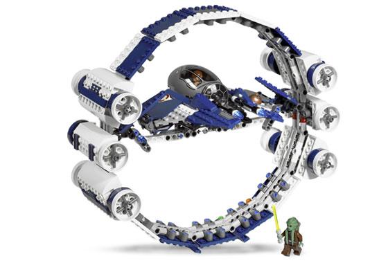 BrickLink - Set 7661-1 : Lego Jedi Starfighter with Hyperdrive Booster Ring  [Star Wars:Star Wars Episode 3] - BrickLink Reference Catalog