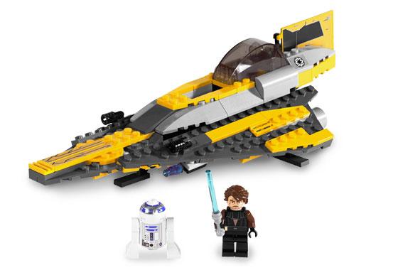BrickLink - Set 7669-1 : Lego Anakin's Jedi Starfighter [Star Wars ...
