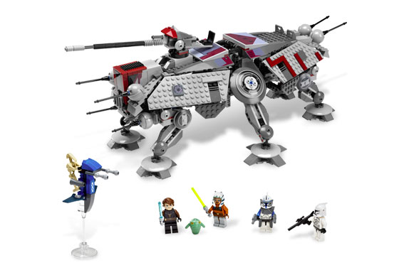 Lego at-te walker instructions 7675, star wars clone wars.
