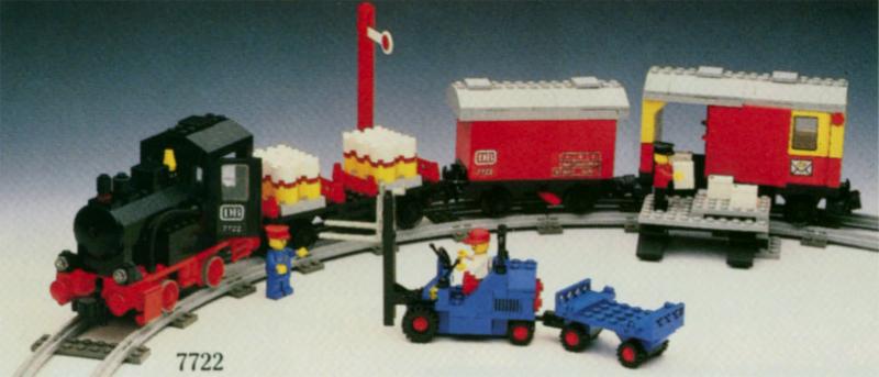 Instructions for 7722-1 battery train set | bricks. Argz. Com.