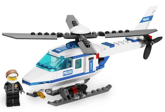 Bricklink Set 7741 1 Lego Police Helicopter Towncitypolice