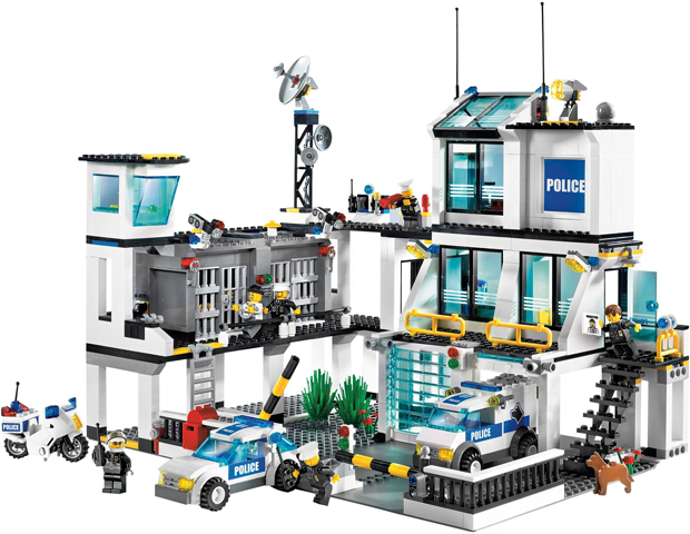 BrickLink - Set 7744-1 : Lego Police Headquarters [Town:City:Police ...