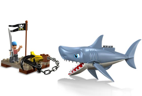 youtube how to build a lego shark