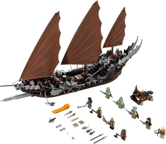 Bricklink Set 79008 1 Lego Pirate Ship Ambush The Hobbit And
