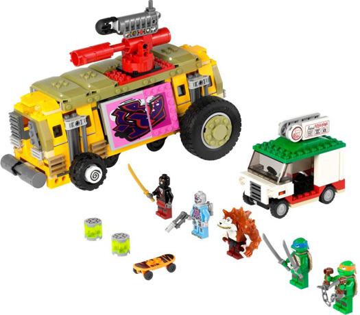 Lego 79104 Teenage Mutant Ninja Turtles Turtles Shellraiser