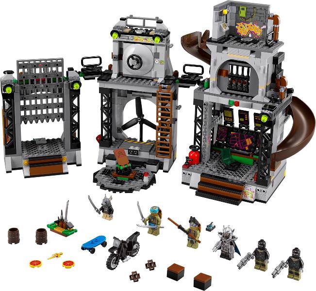 LEGO TMNT Teenage Mutant Ninja Turtles 79117 TURTLE LAIR INVASION New Sealed