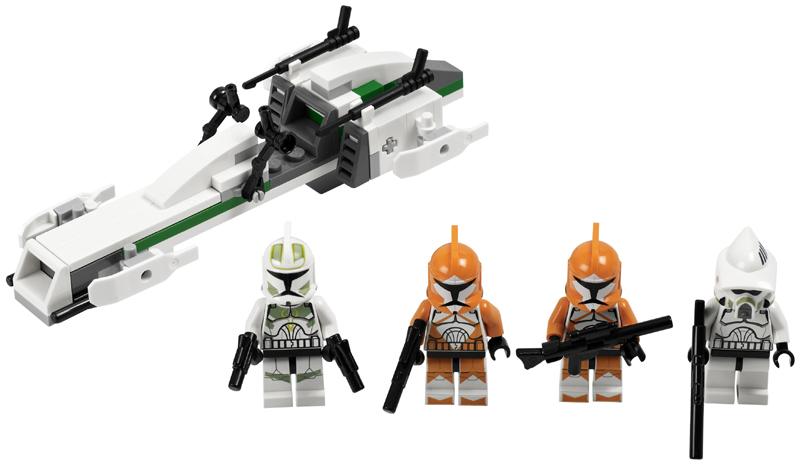 LEGO Star Wars Figur Clone Trooper aus 7913 LEGO Minifiguren LEGO Bau- & Konstruktionsspielzeug