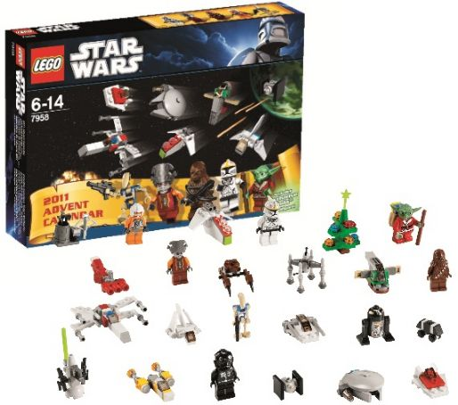 BrickLink - Set 7958-1 : Lego Advent Calendar 2011, Star Wars ...