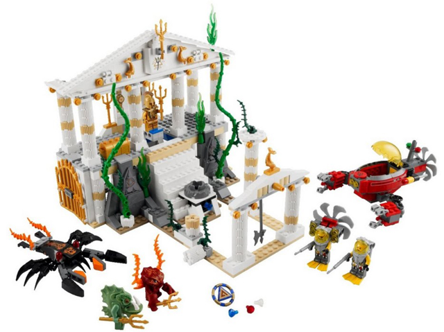 BrickLink - Set 7985-1 : Lego City of Atlantis [Atlantis