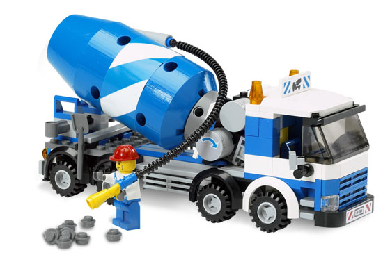 Bricklink Set 7990 1 Lego Cement Mixer Towncityconstruction