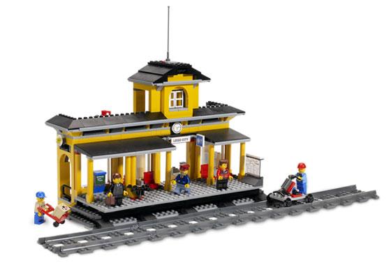 Bricklink Set 7997 1 Lego Train Station Trainrc Train