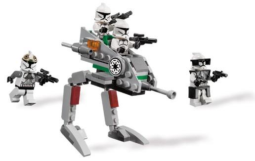 Clone Walker Battle Pack LEGO 8014 STAR WARS STICKER SHEET