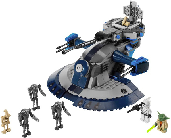 *BRAND NEW* LEGO Star Wars The Clone Wars Armored Assault Tank 8018