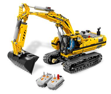 BrickLink - Set 8043-1 : Lego Motorized Excavator  [Technic:Model:Construction] - BrickLink Reference Catalog