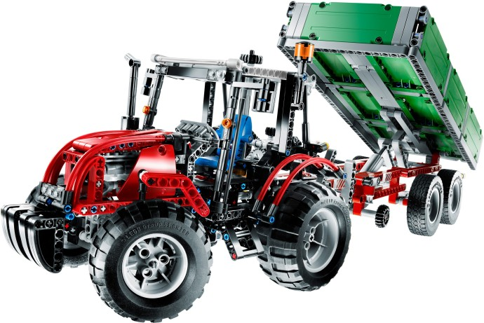 BrickLink - Set 8063-1 : Lego Tractor with Trailer [Technic:Model:Farm] -  BrickLink Reference Catalog