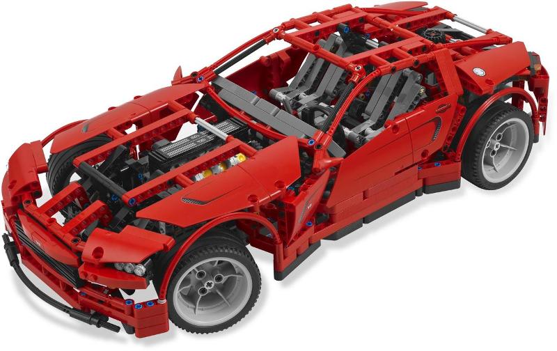 Bricklink Set 8070 1 Lego Supercar Technicmodeltraffic