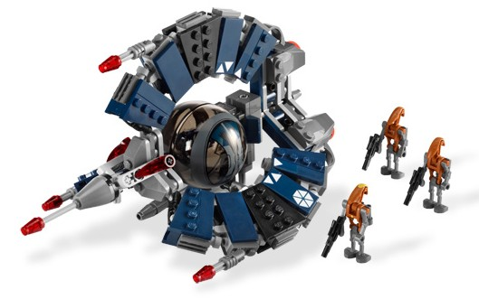 Bricklink Set 8086 1 Lego Droid Tri Fighter Star Warsstar Wars