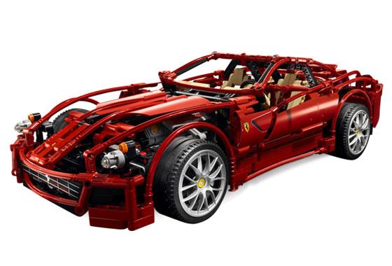 Bricklink Set 8145 1 Lego Ferrari 599 Gtb Fiorano Racers