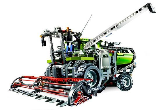 Afholte BrickLink - Set 8274-1 : Lego Combine Harvester [Technic:Model TN-15