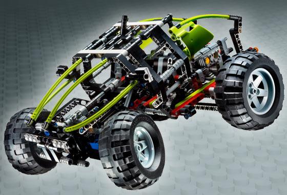 BrickLink - Set 8284-1 : Lego Dune Buggy / Tractor [Technic