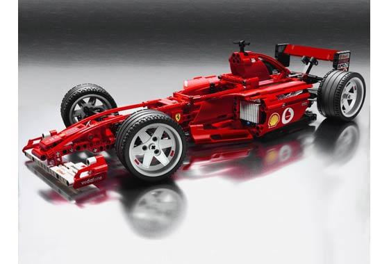 Bricklink Set 8386 1 Lego Ferrari F1 Racer 110 Racersferrari