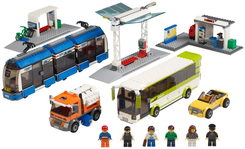 Bricklink Set 8404 1 Lego Public Transport Towncitytraffic