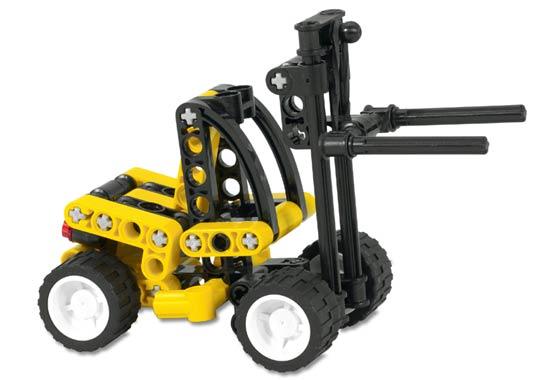 Bricklink Set 8441 1 Lego Forklift Truck Technicmodel