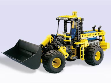 BrickLink - Set 8464-1 : Lego Pneumatic Front End Loader  [Technic:Model:Construction] - BrickLink Reference Catalog