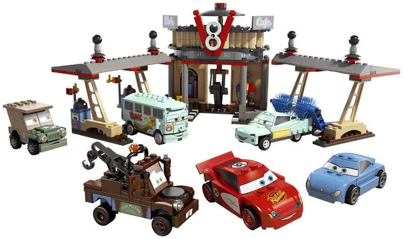 Bricklink Set 8487 1 Lego Flos V8 Cafe Flos V8 Café Cars