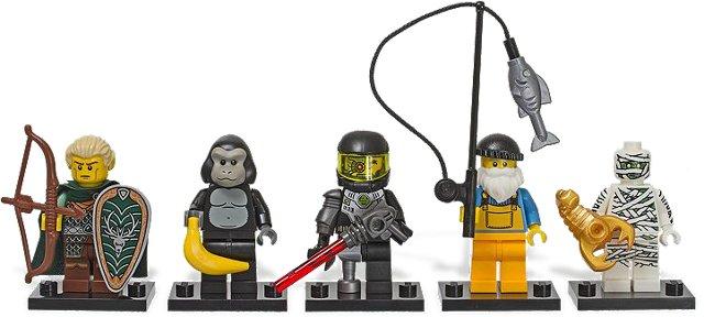 BrickLink - Set 850458-1 : Lego VIP Top 5 Boxed Minifigures ...
