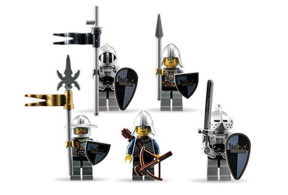 BrickLink - Set 852271-1 : Lego Battle Pack Knights [Castle:Fantasy
