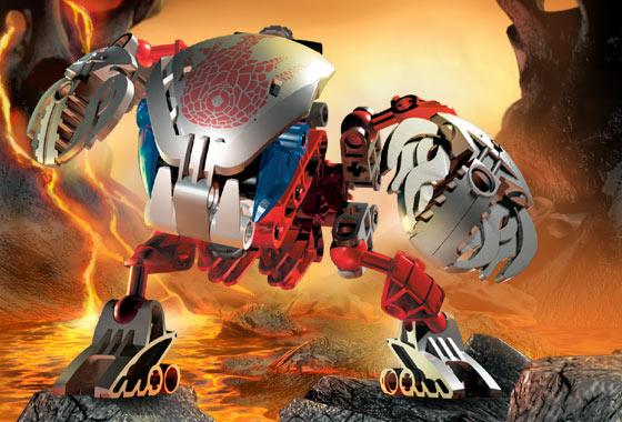 BrickLink - Set 8574-1 : Lego Tahnok-Kal [Bionicle:Bohrok-Kal ...